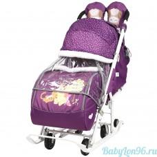 Санки-коляска Baby 2 DB2/1 Disney Медвежонок Винни