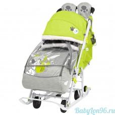 Санки-коляска Baby 2 DB2/3 Disney Далматинец лимонный
