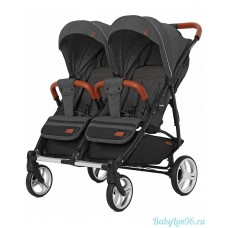 Коляска для двойни Carrello Connect 5502 (serious black)