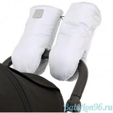 Муфты-рукавицы на липучке цвет: серый