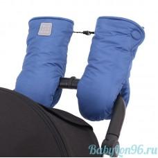 Муфты-рукавицы на липучке цвет: синий
