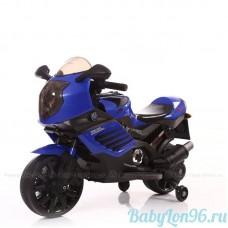 Детский электромотоцикл K333KK синий