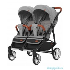 Коляска для двойни Carrello Connect 5502 (rock grey)